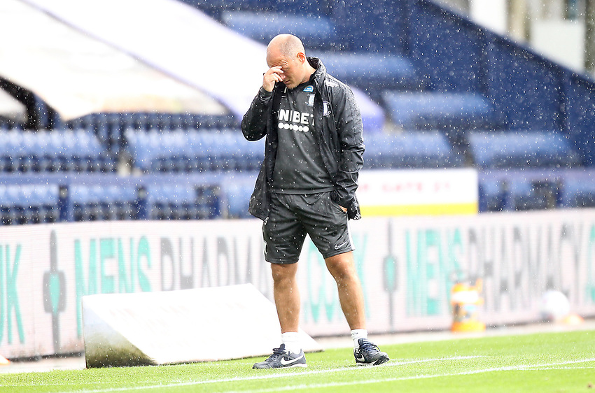 Preston North End's Manager Alex Neil<br /> <br /> Photographer Mick Walker/CameraSport<br /> <br /> The EFL Sky Bet Championship - Preston North End v Cardiff  City - Saturday 27th June 2020 - Deepdale Stadium - Preston<br /> <br /> World Copyright © 2020 CameraSport. All rights reserved. 43 Linden Ave. Countesthorpe. Leicester. England. LE8 5PG - Tel: +44 (0) 116 277 4147 - admin@camerasport.com - www.camerasport.com