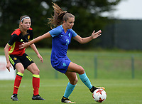 20170914 - TUBIZE ,  BELGIUM : Dutch Lieke Martens  pictured during the friendly female soccer game between the Belgian Red Flames and European Champion The Netherlands , a friendly game in the preparation for the World Championship qualification round for France 2019, Thurssday 14 th September 2017 at Euro 2000 Center in Tubize , Belgium. PHOTO SPORTPIX.BE | DAVID CATRY
