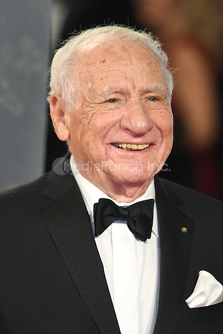 LONDON, ENGLAND - FEBRUARY 12: Mel Brooks attends the 70th EE British Academy Film Awards (BAFTA) at Royal Albert Hall on February 12, 2017 in London, England.<br /> CAP/BEL<br /> &copy;BEL/Capital Pictures /MediaPunch ***NORTH AND SOUTH AMERICAS ONLY***