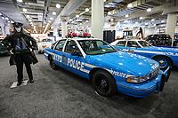 NEW YORK, EUA, 13.04.2017 - AUTOMÓVEL-NEW YORK - Veiculo usado pela Policia de New York , NYDP é visto durante o New York Internacional Auto Show no Javits Center na cidade de New York nesta quinta-feira, 13. O evento é aberto ao público do dia 14 à 23 de abril de 2017 . (Foto: Vanessa Carvalho/Brazil Photo Press)