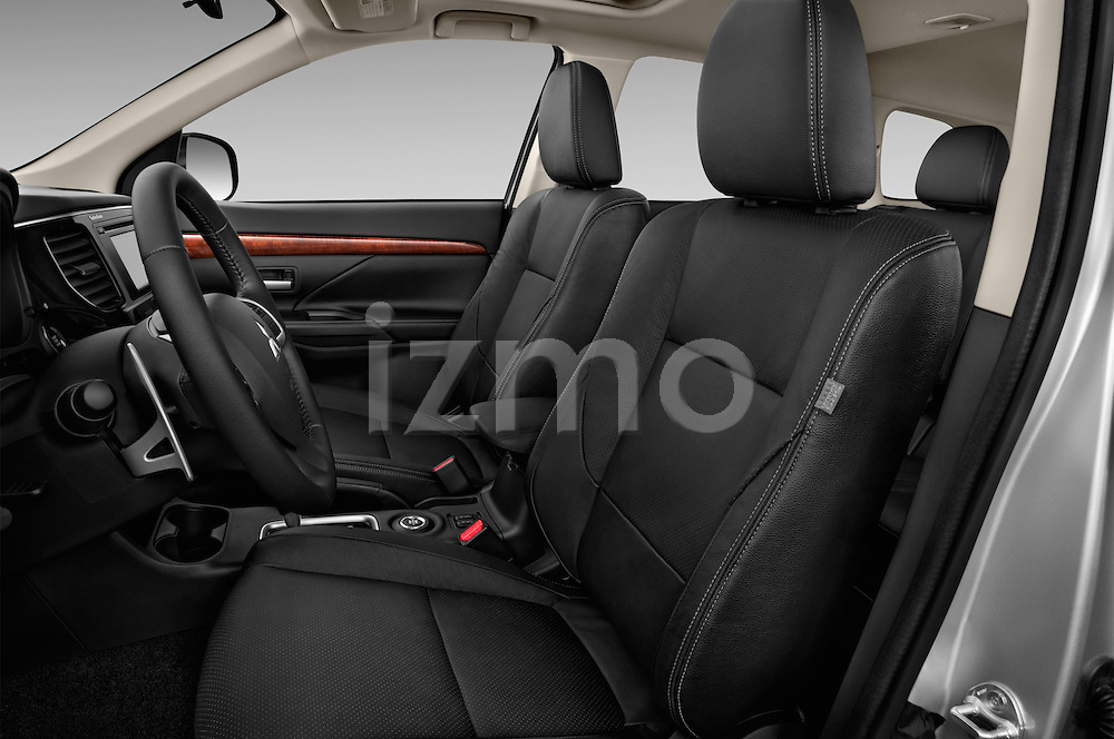 Front seat view of a 2015 Mitsubishi Outlander GT 4WD 5 Door SUV Front Seat car photos
