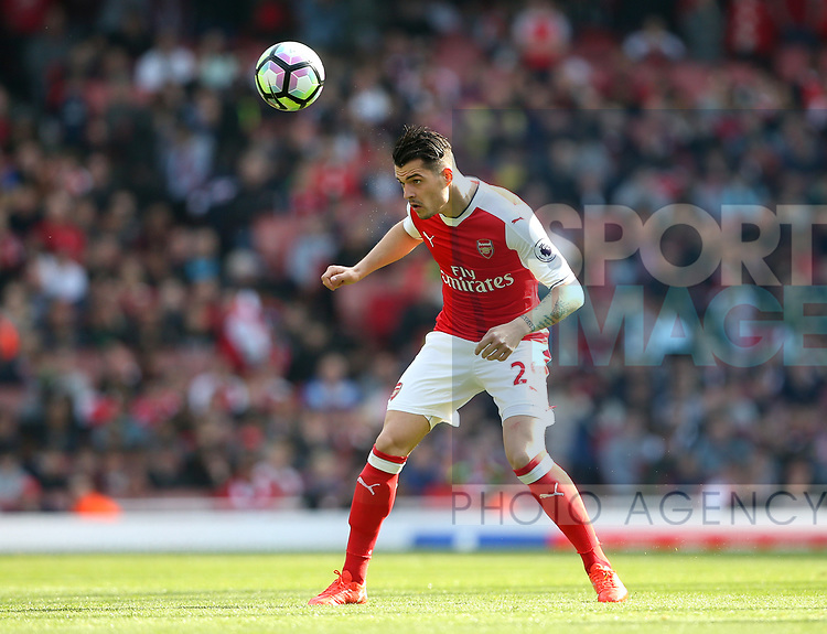 Arsenal's Granit Xhaka in action during the Premier League match at the Emirates Stadium, London. Picture date: May 7th, 2017. Pic credit should read: David Klein/Sportimage