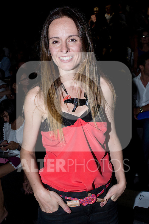 01.09.2012. Celebrities attending the Juanjo Oliva fashion show during the Mercedes-Benz Fashion Week Madrid Spring/Summer 2013 at Ifema. In the image Ana Locking (Alterphotos/Marta Gonzalez)