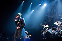 "Matisyahu performs during his ""Festival of Light"" tour at the Electric Factory in Philadelphia, December 12, 2012."