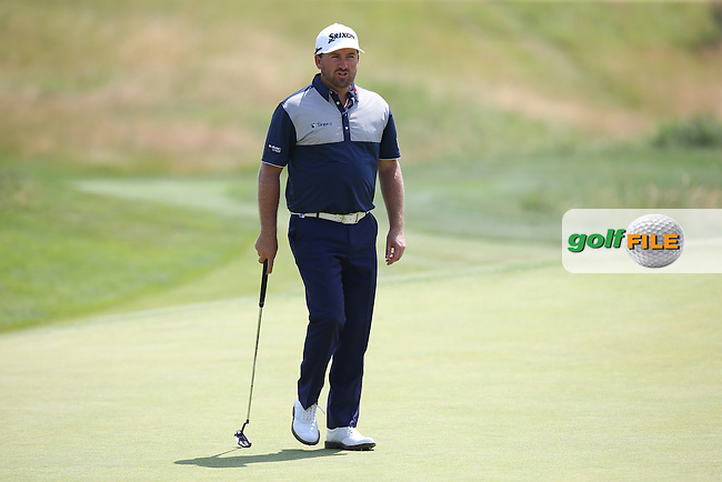 Graeme McDowell (NIR) on the 8th green during Round Two of the 2015 Alstom Open de France, played at Le Golf National, Saint-Quentin-En-Yvelines, Paris, France. /03/07/2015/. Picture: Golffile   David Lloyd<br /> <br /> All photos usage must carry mandatory copyright credit (&copy; Golffile   David Lloyd)