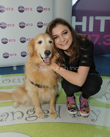 HOLLYWOOD, FL -  MARCH 30: Daya visits Joe DiMaggio Children's Hospital with radio station HITS 97.3 on March 30, 2016 in Hollywood, Florida.Credit: mpi04/MediaPunch