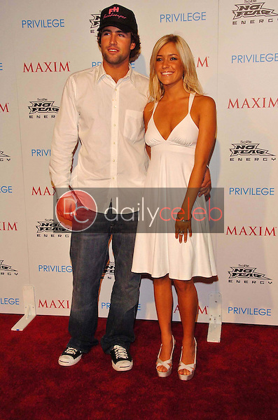 Brody Jenner and Kristin Cavallari<br />at the MAXIM Magazine and Sobe No Fear X Games Party. Privilege, West Hollywood, CA. 08-03-06<br />Scott Kirkland/DailyCeleb.Com 818-249-4998