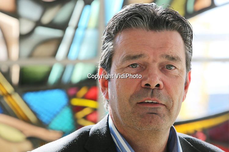 Foto: VidiPhoto..VEGHEL - Portret van AGF-manager Ton van der Hoek (Jumbo) op het hoofdkantoor in het Brabantse Veghel..