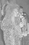 GUNS N ROSES - Axl Rose - Performing Live at Whisky A Go Go in Hollywood, Ca 08/01/1987 - Photo Credit : David Plastik
