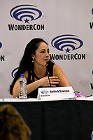 Delilah Dawson at Wondercon in Anaheim Ca. March 31, 2019