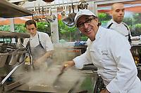Europe/France/Bretagne/29/Finistère/Carantec: Patrick Jeffroy   en cuisine -  Restaurant: Patrick Jeffroy - Hôtel de Carantec