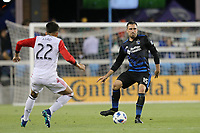 San Jose, CA - Saturday May 19, 2018: Jimmy Ockford during a Major League Soccer (MLS) match between the San Jose Earthquakes and D.C. United at Avaya Stadium.