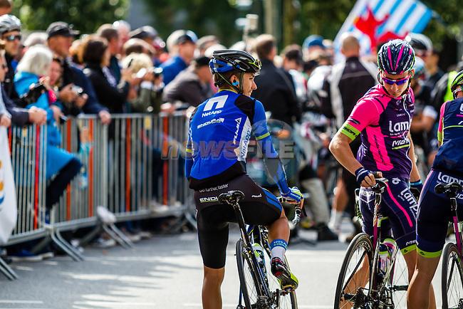 Team Netapp - Endura, Vattenfall Cyclassics, Hamburg, Germany, 24 August 2014, Photo by Thomas van Bracht