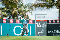 Hennie Otto (RSA) during the 3rd round of the AfrAsia Bank Mauritius Open, Four Seasons Golf Club Mauritius at Anahita, Beau Champ, Mauritius. 01/12/2018<br /> Picture: Golffile | Mark Sampson<br /> <br /> <br /> All photo usage must carry mandatory copyright credit (&copy; Golffile | Mark Sampson)
