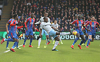 West Ham United's Michail Antonio<br /> <br /> Photographer Rob Newell/CameraSport<br /> <br /> The Premier League - Saturday 9th February 2019  - Crystal Palace v West Ham United - Selhurst Park - London<br /> <br /> World Copyright © 2019 CameraSport. All rights reserved. 43 Linden Ave. Countesthorpe. Leicester. England. LE8 5PG - Tel: +44 (0) 116 277 4147 - admin@camerasport.com - www.camerasport.com