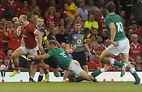 Wales Aled Davies tries to get away from Ireland's Will Addison<br /> <br /> Photographer Ian Cook/CameraSport<br /> <br /> 2019 Under Armour Summer Series - Wales v Ireland - Saturday 31st August 2019 - Principality Stadium - Cardifff<br /> <br /> World Copyright © 2019 CameraSport. All rights reserved. 43 Linden Ave. Countesthorpe. Leicester. England. LE8 5PG - Tel: +44 (0) 116 277 4147 - admin@camerasport.com - www.camerasport.com