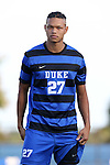 21 August 2015: Duke's Macario Hing-Glover. The Duke University Blue Devils hosted the University of North Carolina Charlotte 49ers at Koskinen Stadium in Durham, NC in a 2015 NCAA Division I Men's Soccer preseason exhibition. The game ended in a 1-1 tie.