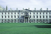 James Gibbs: The Fellows' Building, King's College, Cambridge 1724. Photo '82.
