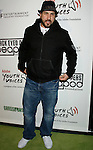 LOS ANGELES, CA. - February 05: TV personality Joey Fatone arrives at the Black Eyed Peas Peapod Foundation benefit concert presented by Adobe Youth Voices inside the Conga Room at the Nokia Theatre L.A. Live on February 5, 2009 in Los Angeles, California.