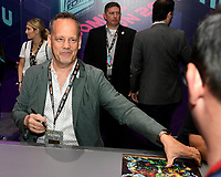 SAN DIEGO COMIC-CON© 2019:  20th Century Fox Television's AMERICAN DAD Cast Member Dee Bradley Baker during the AMERICAN DAD booth signing on Saturday, July 20 at the SAN DIEGO COMIC-CON© 2019. CR: Alan Hess/20th Century Fox Television