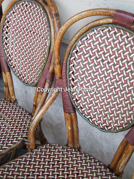 Parisian Cafe Chairs
