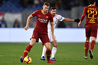 Edin Dzeko of AS Roma in action during the Serie A 2018/2019 football match between AS Roma and AC Milan at stadio Olimpico, Roma, February 3, 2019 <br />  Foto Andrea Staccioli / Insidefoto