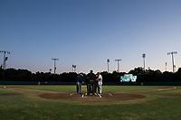 Stanford, CA - February 23, 2018: Stanford Men's Baseball defeats Rice 7-2 at Sunken Diamond.