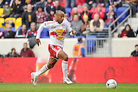 Thierry Henry (14) of the New York Red Bulls. The New York Red Bulls defeated the Colorado Rapids 4-1 during a Major League Soccer (MLS) match at Red Bull Arena in Harrison, NJ, on March 25, 2012.