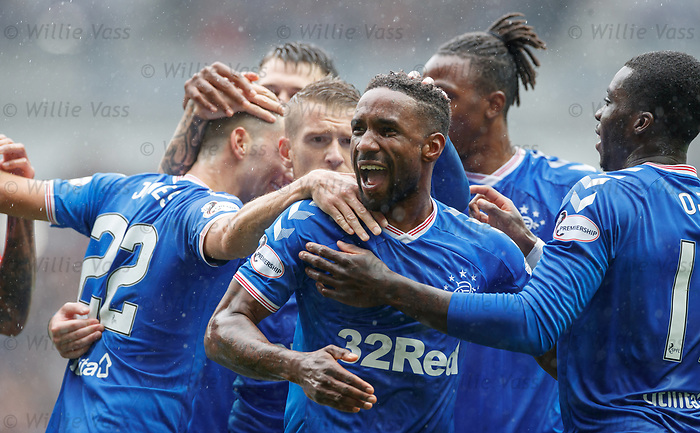 11.08.2019 Rangers v Hibs: Jermain Defoe