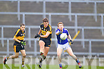 Eoin Brosnan of Dr Crokes and Cathal McInerney of Cratloe in the AIB Munster Senior Football Final played last Sunday in The Gaelic Grounds, Limerick.