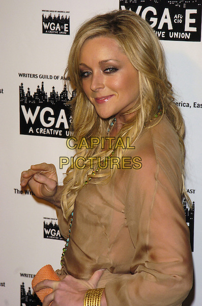 JANE KRAKOWSKI.59th Annual Writers Guild Awards at the Hudson Theater, New York, New York ,USA..February 11th, 2007.half length beige sheer top.CAP/ADM/BL.©Bill Lyons/AdMedia/Capital Pictures *** Local Caption ***