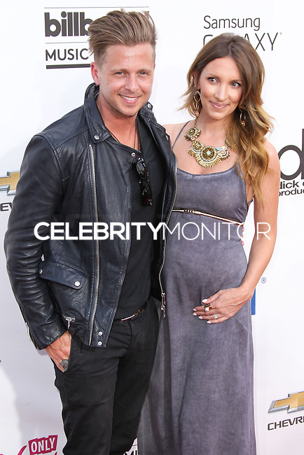 LAS VEGAS, NV, USA - MAY 18: Ryan Tedder, Genevieve Tedder at the Billboard Music Awards 2014 held at the MGM Grand Garden Arena on May 18, 2014 in Las Vegas, Nevada, United States. (Photo by Xavier Collin/Celebrity Monitor)