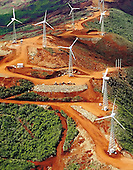 Mont Dore, éoliennes de Negandi