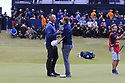 Jordan Spieth (USA), Matt Kuchar (USA) during the final round of the 146th Open Championship played at Royal Birkdale, Southport,  Merseyside, England. 20 - 23 July 2017 (Picture Credit / Phil Inglis)