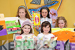 GREEN TEAM: Children from Abbeyfeale enjoying the Petits Picassos Junk Art Sunner Camp in Abbeyfeale on Thursday last..Front L/r. Loise Kelly Morrissey, Leona Lyons, Deana Kelly Morrissey..Back L/r. Rachel McMahon and Danielle Sheeran..