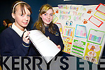 WHAT'S THE DIFFERENCE DOGGY? Colaiste na Sceilge students Melissa O'Sullivan and Emma Carey presented their project 'Whats going on behind those puppy dog eyes?' at the annual SciFest Science and Technology Fair held in the ITT on Tuesday.
