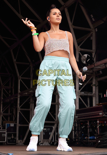 Sophia Saffarian of Four of Diamonds perform on Day Two of British Summertime at Hyde Park, London on July 6th 2019<br /> CAP/ROS<br /> ©ROS/Capital Pictures