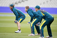 Steve Smith (Australia - middle) during a Training Session at Edgbaston Stadium on 10th July 2019