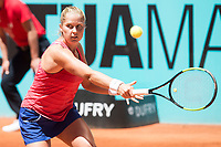 American Shelby Rogers during Mutua Madrid Open Tennis 2017 at Caja Magica in Madrid, May 06, 2017. Spain.<br /> (ALTERPHOTOS/BorjaB.Hojas) /NORTEPHOTO.COM