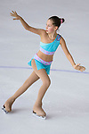 Anna Nikishina of Australia competes in Basic Novice Subgroup A Girls group during the Asian Open Figure Skating Trophy 2017 on August 02, 2017 in Hong Kong, China. Photo by Marcio Rodrigo Machado / Power Sport Images