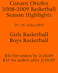 09 Basketball Season Highlights DVD