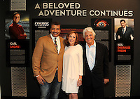 BEVERLY HILLS, CA - AUGUST 3: Neil DeGrasse Tyson, Ann Druyan, and Mitchell Cannold  attend the Fox And National Geographic Channel Presents A Screening Of 'Cosmos: A Spacetime Odyssey' at The Paley Center for Media on August 3, 2014 in Beverly Hills, California. PGFM/Starlitepics