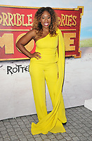 "Dominique Moore at the ""Horrible Histories: The Movie - Rotten Romans"" world film premiere, Odeon Luxe Leicester Square, Leicester Square, London, England, UK, on Sunday 07th July 2019.<br /> CAP/CAN<br /> ©CAN/Capital Pictures"