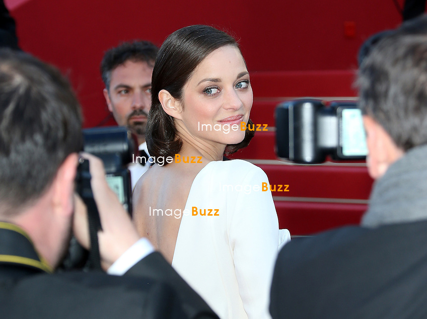 Marion Cotillard attends the 'The Immigrant' premiere during The 66th Annual Cannes Film Festival at the Palais des Festivals on May 24, 2013 in Cannes, France.