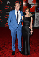 Frank Oz &amp; Victoria Labalme at the world premiere for &quot;Star Wars: The Last Jedi&quot; at the Shrine Auditorium. Los Angeles, USA 09 December  2017<br /> Picture: Paul Smith/Featureflash/SilverHub 0208 004 5359 sales@silverhubmedia.com