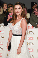 Sam Faeirs<br /> at the National TV Awards 2017 held at the O2 Arena, Greenwich, London.<br /> <br /> <br /> ©Ash Knotek  D3221  25/01/2017