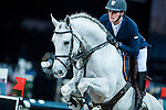 Olivier Philippaerts of Belgium riding Cabrio van de Heffinck in action at the Gucci Gold Cup during the Longines Hong Kong Masters 2015 at the AsiaWorld Expo on 14 February 2015 in Hong Kong, China. Photo by Xaume Olleros / Power Sport Images
