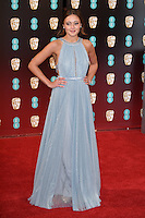 Ella Purnell at the 2017 EE British Academy Film Awards (BAFTA) held at The Royal Albert Hall, London, UK. <br /> 12 February  2017<br /> Picture: Steve Vas/Featureflash/SilverHub 0208 004 5359 sales@silverhubmedia.com