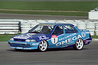 Round 1 of the 1992 British Touring Car Championship. #1 Will Hoy (GBR). Team Securicor ICS Toyota. Toyota Carina.