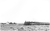#473 with westbound San Juan.  RPO, baggage and 3 coaches.<br /> D&amp;RGW  Oxford, CO  Taken by Ward, Bert H. - 7/1946
